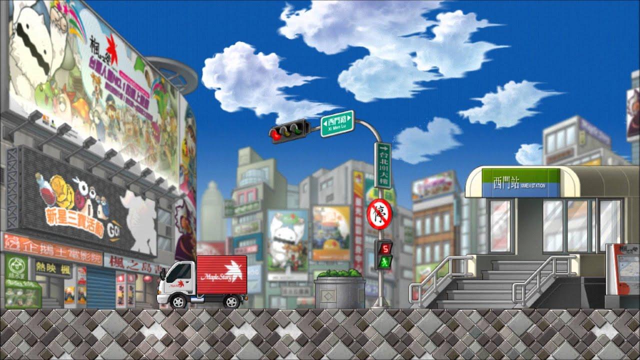 Maplestory New Leaf City