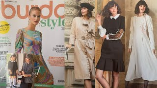 Burda Style 03 2021 Модели в стиле ретро и парижский шик Розыгрыш журналов