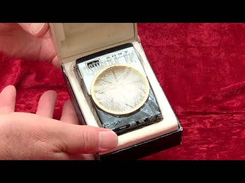 Sony 1960 Transistor Radio Vintage UNBOXING Double TR-620 - Collectornet.net