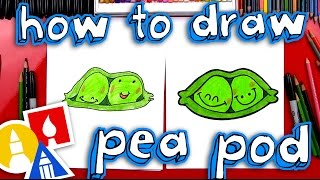 How To Draw Funny Peas In A Pod