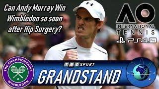 Grandstand July 2019 Wimbledon Men's Final Coverage