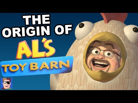 Pixar Theory: The Origin Of Al's Toy Barn (ft. Mike Mozart)