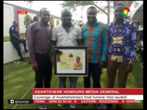 Asantehene honours Media General