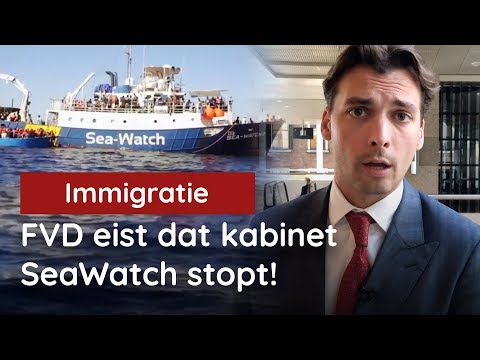 FVD eist dat kabinet SeaWatch stopt!