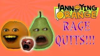 ALL The Annoying Orange RAGEQUITS!!!