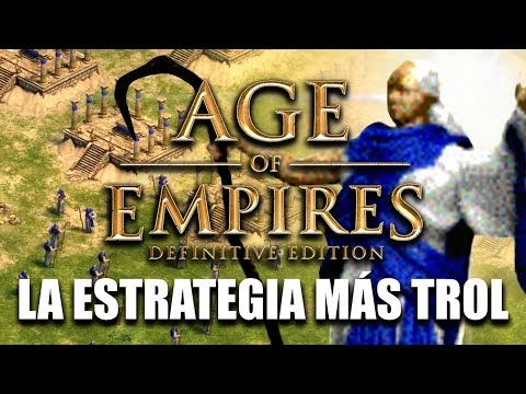 AGE of EMPIRES - ESTRATEGIA WOLOLO en ONLINE