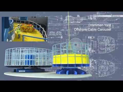 Drammen Yard Offshore Cable Carousel