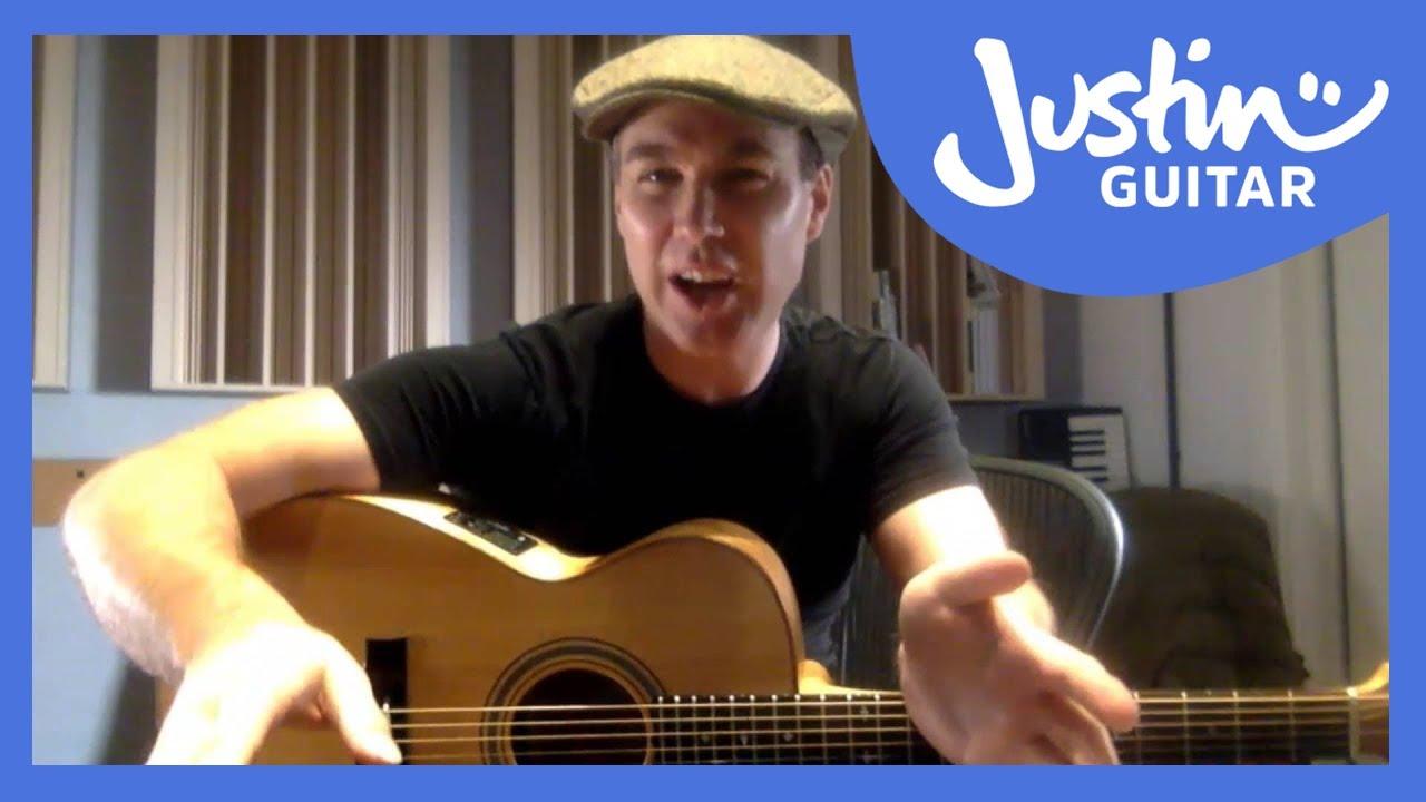 JustinGuitar Live Show [Beginner Hour] 9th Jan 2016 - YouTube