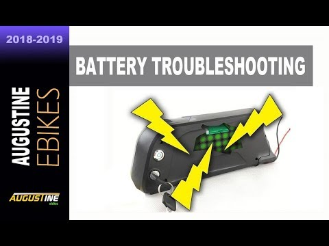 Troubleshooting E-Bike Battery Problems