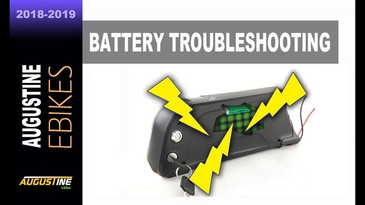 E-Bike Tips  Troubleshooting failed E-Bike Battery Problems