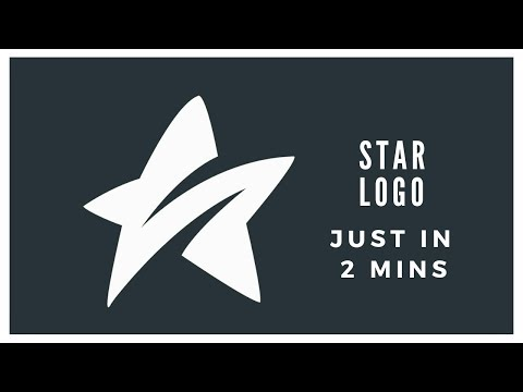 Star Logo Design Just In 2mins || Adobe Photoshop