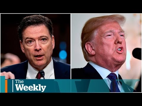 James Comey compares Donald Trump to a 'mob boss'