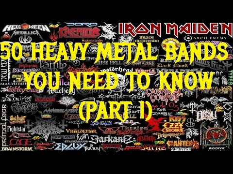 50 HEAVY METAL Bands You Need to Know (Part 1)