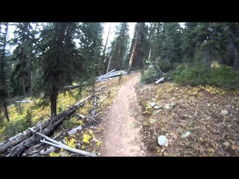 Mountain Bike Ride Part 1 - Jefferson, Park County toTiger Run, Summit County