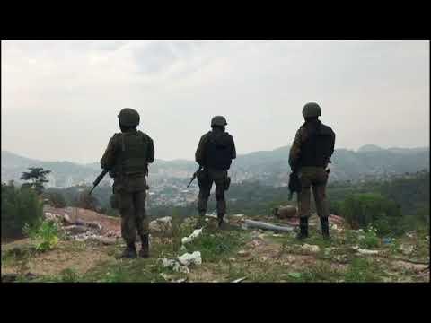 Forças Armadas fazem megaoperação em Niterói