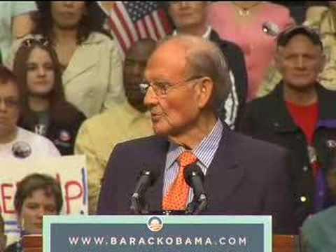 Senator McGovern for Obama, in South Dakota