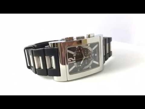 9bb776c1e537c Bvlgari Rettangolo Chronograph RTC49S (Pre-owned watch) - YouTube