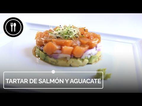 Receta súper rápida de tartar de salmón y aguacate (con vídeo incluido)