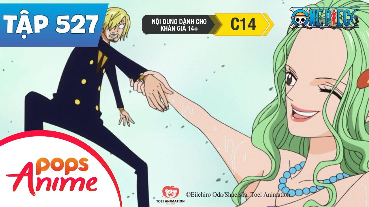 One Piece Tập 527 - Đặt Chân Tới Đảo Người Cá. Những Nàng Mỹ Nhân Ngư Xinh Đẹp - Đảo Hải Tặc