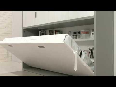 Funcionalidades de una cama abatible muebles ros youtube for Muebles ros precios