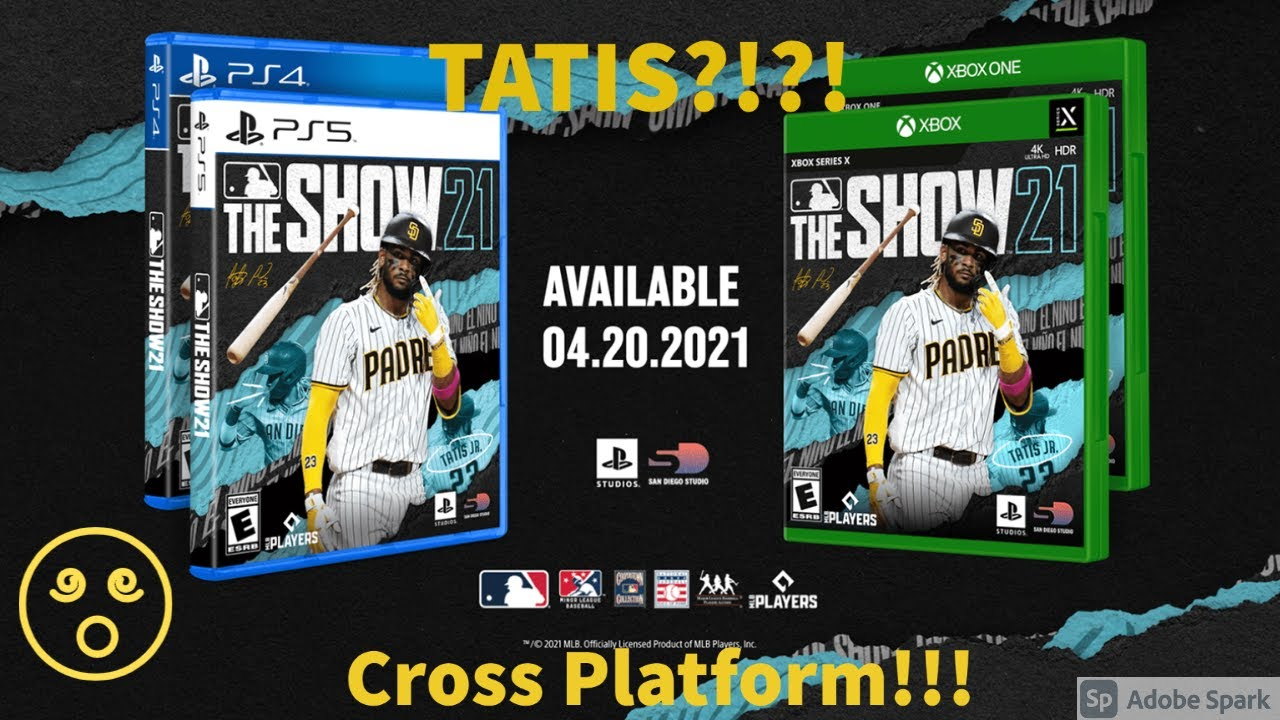 TATIS ON THE COVER?!?! CROSS PLATFORM! MLB THE SHOW 21 NEWS!
