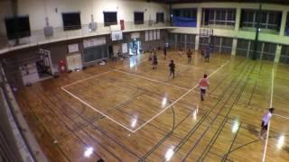 港川中学校 一般 バスケ 2016.12.1 ②