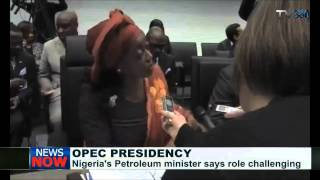 Allison Madueke says OPEC Presidency is challenging