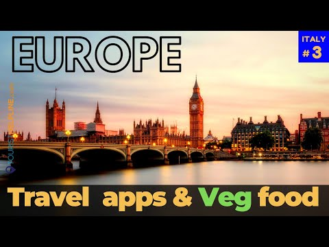 HOW TO TRAVEL EUROPE CHEAP: Travel apps | Veg food | Hotels | Bus