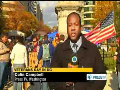 US veterans join Occupy protests in NY -  #OccupyVeterans
