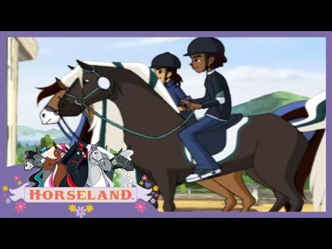 Horseland Full Episodes - Bailey's New Friend | Season 1, Episode 13 | Horse Cartoons for Children