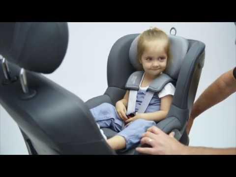 Детское автокресло Britax Roemer Dualfix 2 R (группа 0+ и 1, до 18 кг). Видео №2
