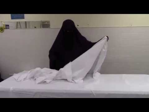 Shrouding The Deceased Muslim Female thumbnail