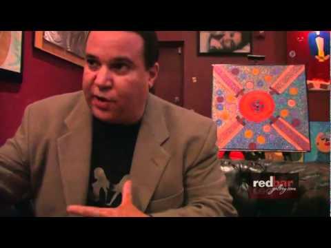 Maverick Artist Victor-Hugo Vaca Jr. Modern Art Gonzo Journalism Interview Red Bar Gallery