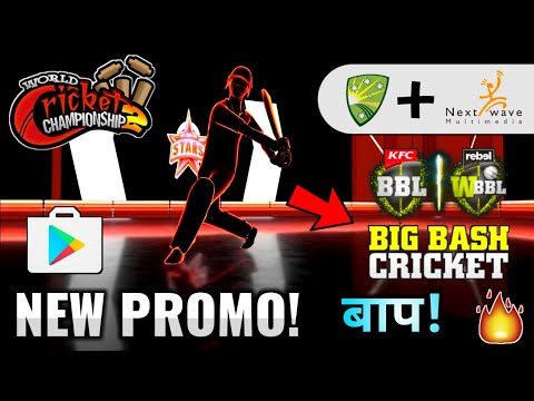 🔥Big Bash League Game Official Promo! 🏏Nextwave Multimedia New Cricket Game | Android & iOS