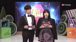 Video the time when BTS Jimin won the BEST ENGLISH AWARD on ASC download MP3, 3GP, MP4, WEBM, AVI, FLV April 2018