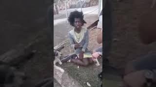 Mendigo fala sobre Democracia e Greve dos Caminhoneiros
