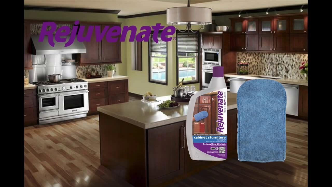 REJUVENATE CABINET & FURNITURE CLEANER - YouTube