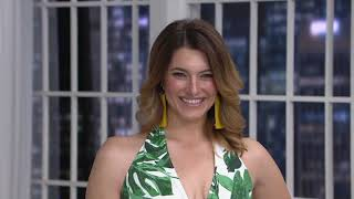 G.I.L.I. Halter-Neck One-Piece SwimSuit on QVC