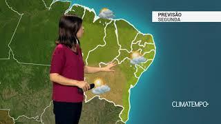 Previsão Nordeste – Mais chuva no MA, PI e CE