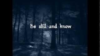 Be Still - The Fray (Lyrics)