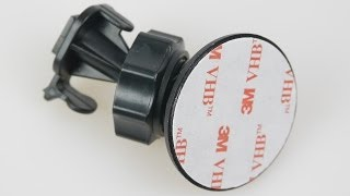 How to remove a 3M Adhesive Pad Dash-Cam or Helmet-Cam Mount