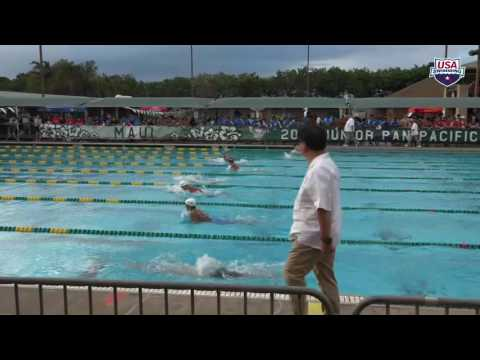 #30 Men 200 Breast A Final | 2016 Junior Pan Pacific Swimming Championships | Maui