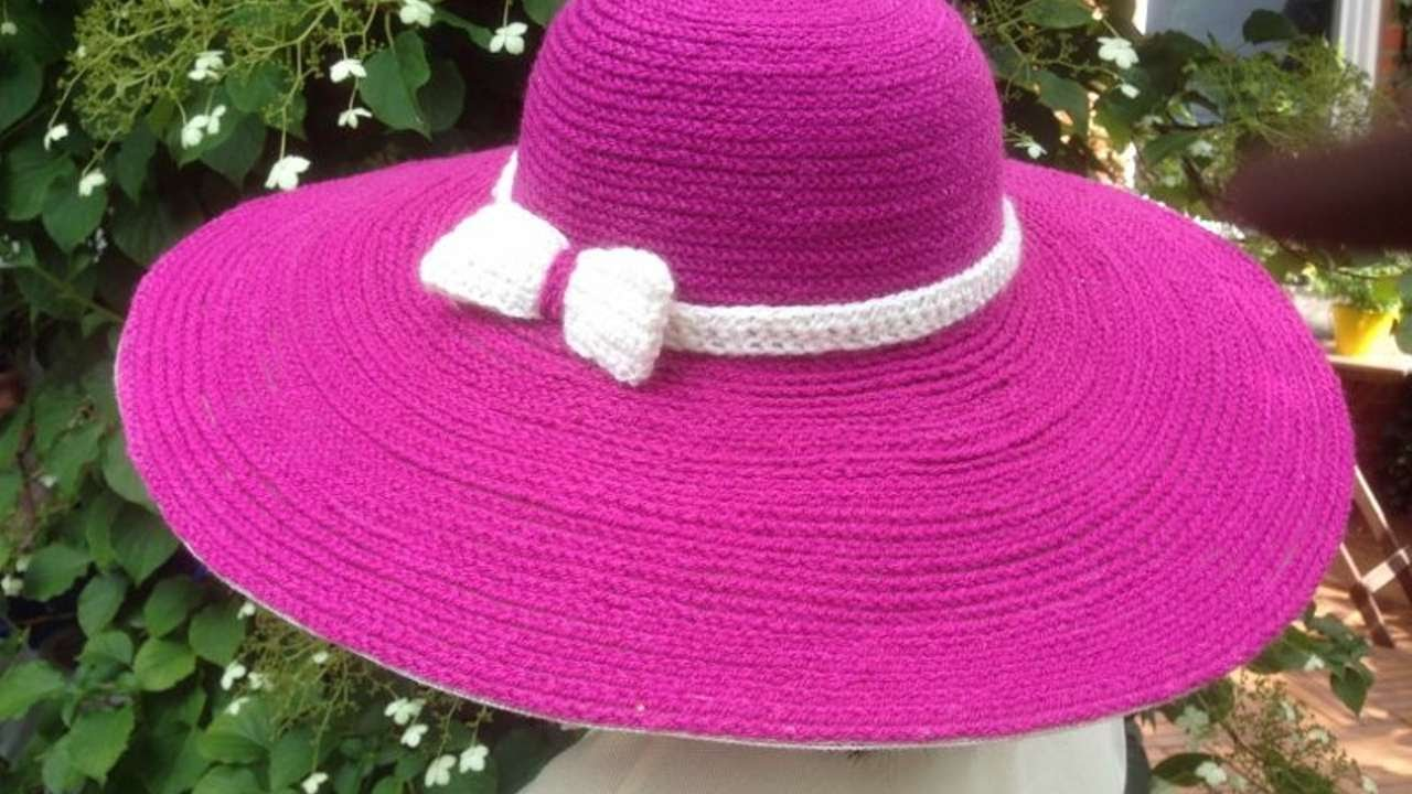 How To Make A Beautiful Crochet Summer Hat Diy Style
