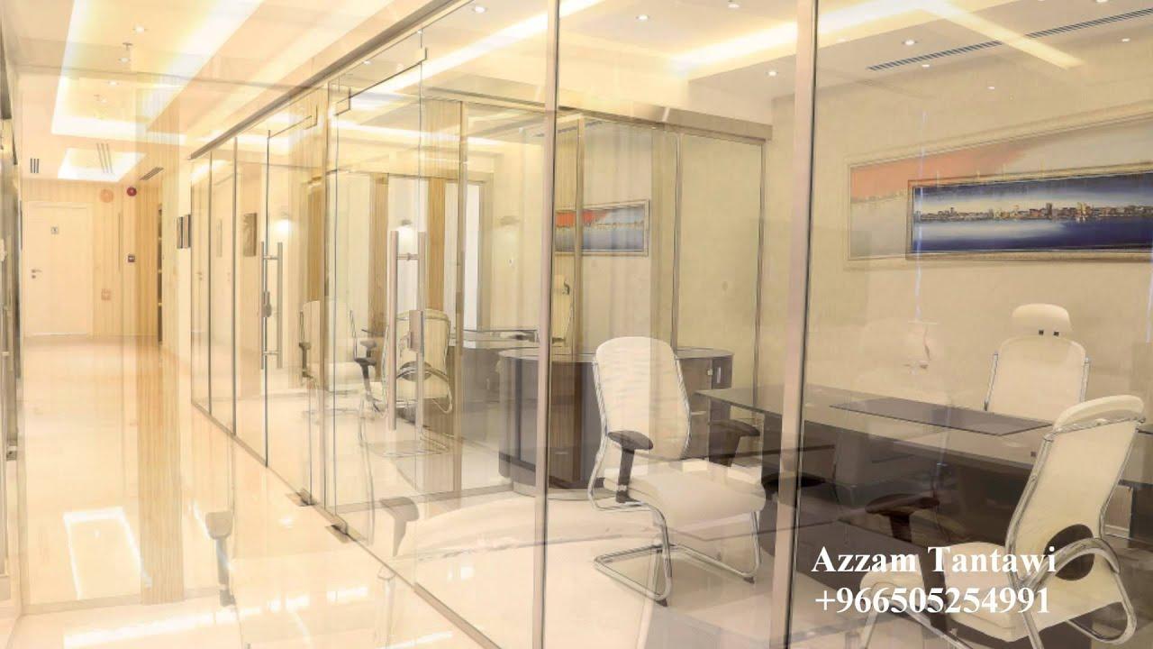 التصميم الشامل مكتب فاخر Atoz Design Luxury Office