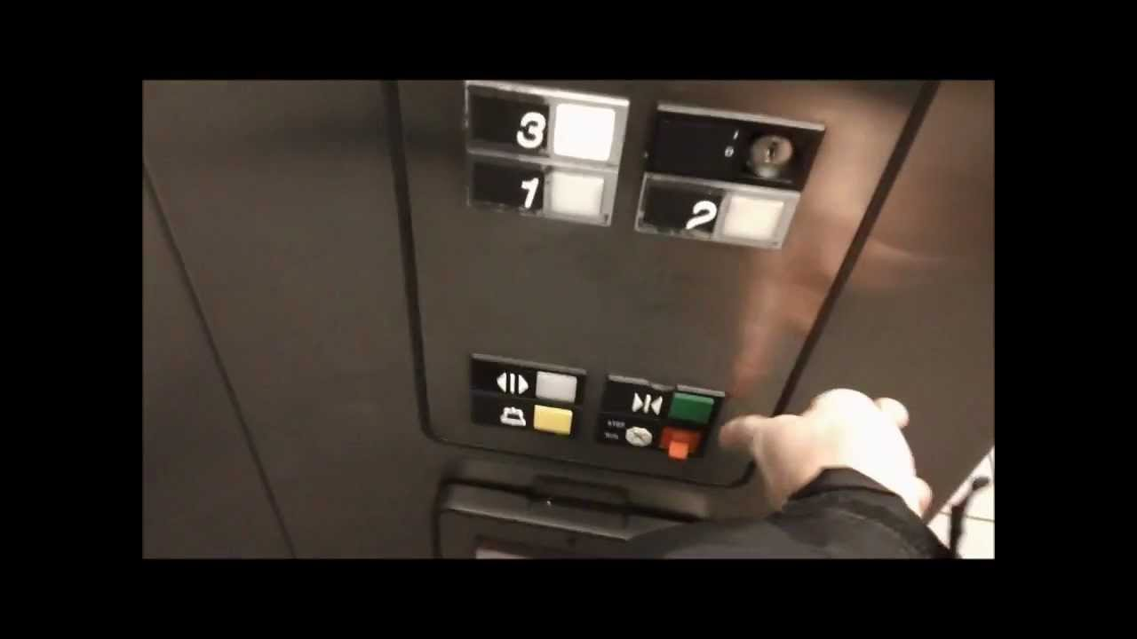 Otis Elevator Fire Service Fail - YouTube