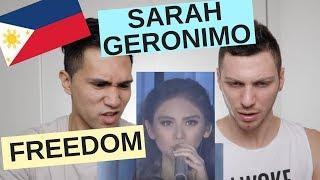 SARAH GERONIMO (FREEDOM) - ASAP | ABS-CBN REACTION