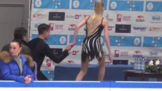 2017 Russian Jr Nationals - Ksenia Konkina / Grigory Yakushev …
