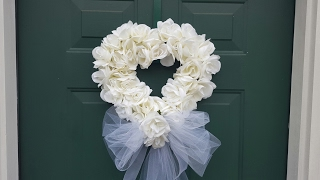 WEDDING WREATH | BRIDAL SHOWER | DOLLAR TREE DIY