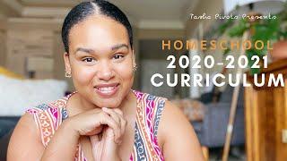 HOMESCHOOL 2020-2021 CURRICULUM