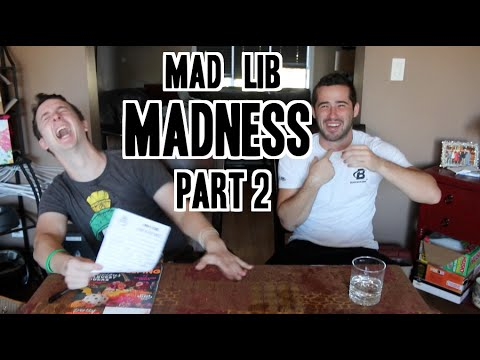 Mad Lib Madness Pt 2